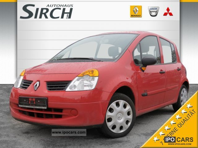 2005 renault modus 1 2 authentique air car photo and specs. Black Bedroom Furniture Sets. Home Design Ideas