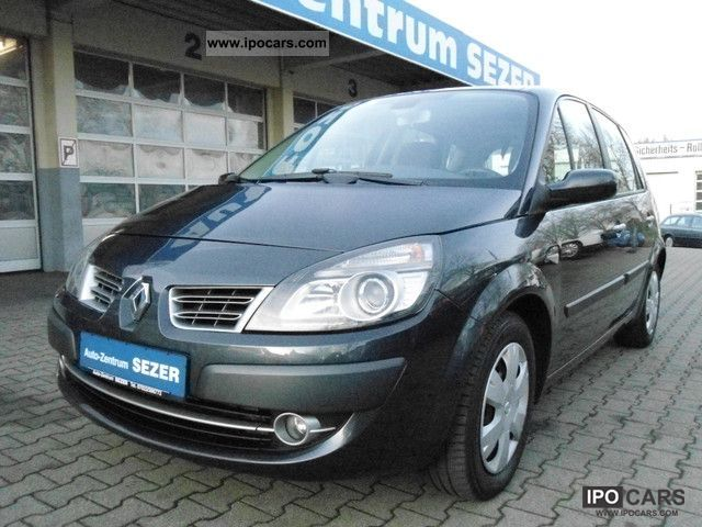 2009 renault scenic 1 9 dci aut navi gsd klimaaut euro4 car photo and specs. Black Bedroom Furniture Sets. Home Design Ideas