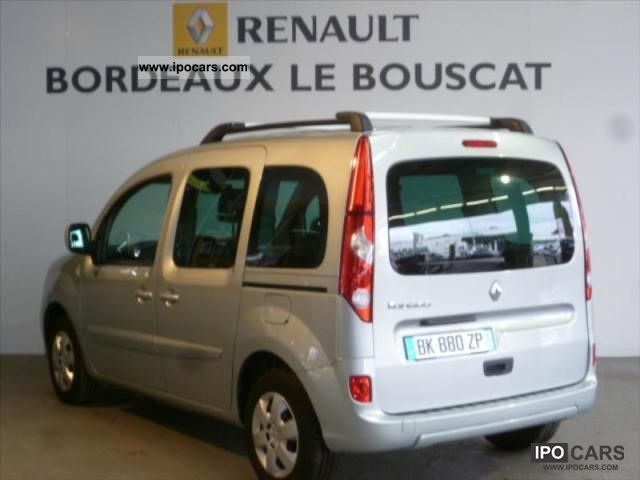 2011 renault kangoo 1 5 dci 90 privilege eco2 5 car photo and specs. Black Bedroom Furniture Sets. Home Design Ideas