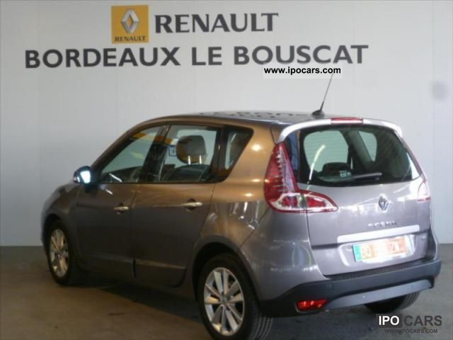 2011 renault scenic dci 150 fap iii exception 5 a 2011 car photo and specs. Black Bedroom Furniture Sets. Home Design Ideas