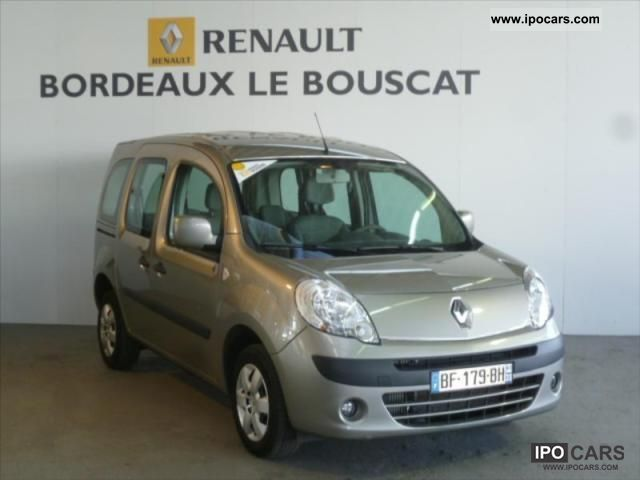 2008 renault kangoo 1 5 dci 85 privilege 4 car photo and specs. Black Bedroom Furniture Sets. Home Design Ideas