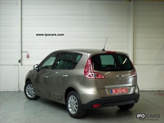 2011 renault scenic dci 130 fap iii jade 5 2011 car photo and specs. Black Bedroom Furniture Sets. Home Design Ideas