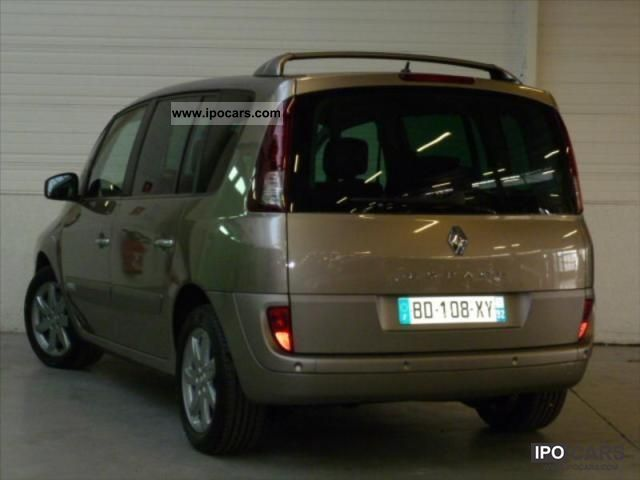 2010 renault espace 2 0 dci 150 fap 25 th car photo and specs. Black Bedroom Furniture Sets. Home Design Ideas