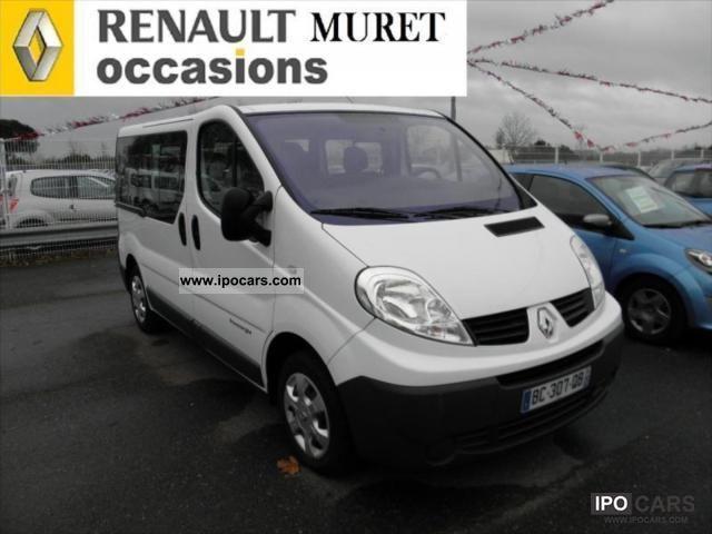 2010 Renault Trafic Generation L1h1 1000 Kg