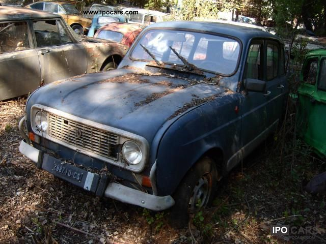 Renault  4850 TL 1975 Vintage, Classic and Old Cars photo