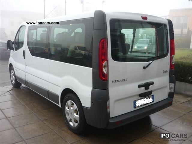 2008 renault trafic 2 5 dci cv 146th 9 posti passenger. Black Bedroom Furniture Sets. Home Design Ideas