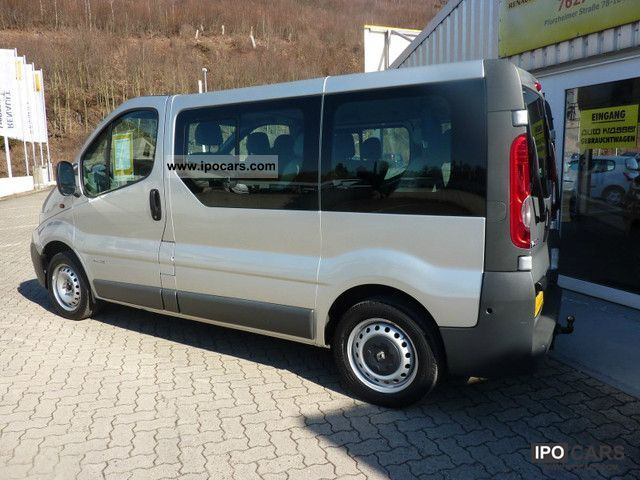2006 renault trafic 2 0 dci 115 9 seater combi car. Black Bedroom Furniture Sets. Home Design Ideas