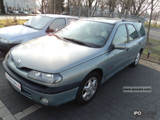 1999 renault laguna 2 0 proactive car photo and specs. Black Bedroom Furniture Sets. Home Design Ideas