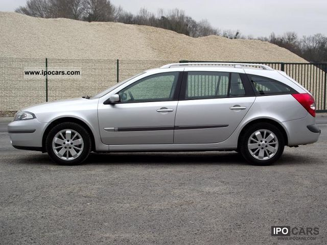 2007 renault laguna ii 2 a 1 9 dci estate impulsion car photo and specs. Black Bedroom Furniture Sets. Home Design Ideas