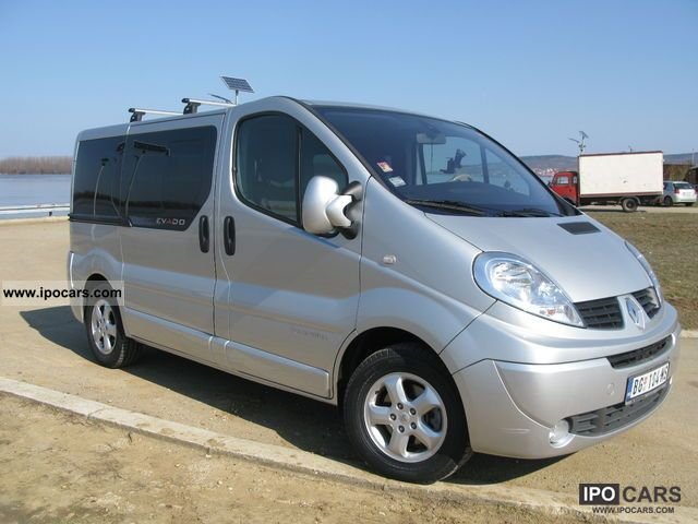 2010 renault trafic generation evado dci 150 car photo and specs. Black Bedroom Furniture Sets. Home Design Ideas