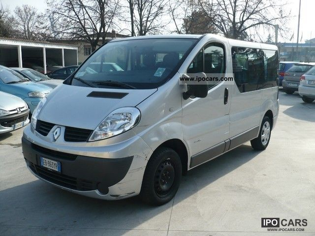 2009 renault trafic 2 0 dci 115 passenger 9 posti car photo and specs. Black Bedroom Furniture Sets. Home Design Ideas