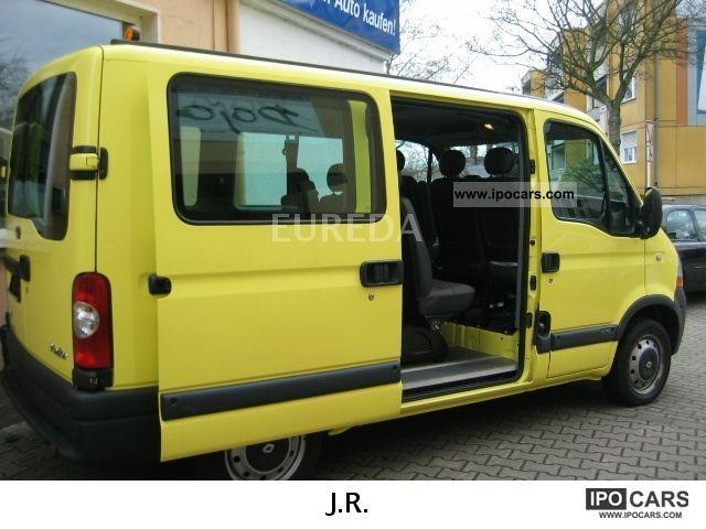 2006 renault master 2 5 dci 100 l1h1 car photo and specs. Black Bedroom Furniture Sets. Home Design Ideas