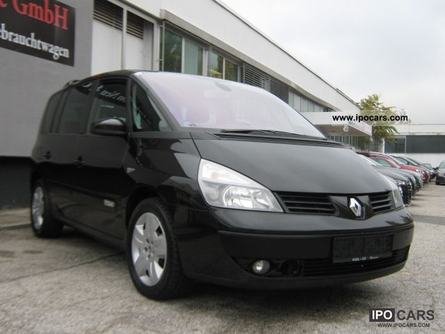 2006 renault espace 2 0 dci sport edition 39 39 full equipment car photo and specs. Black Bedroom Furniture Sets. Home Design Ideas