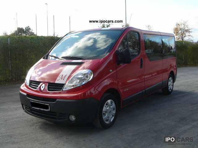 2010 Renault Trafic 2 0 Dci 115 Expression Long Passenger