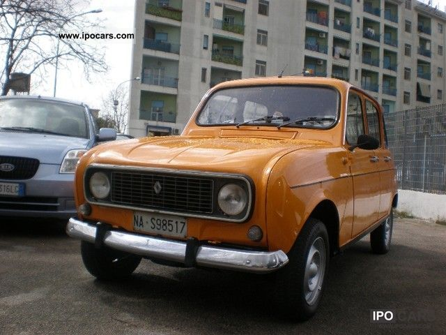 Renault  R 4 tsp iscritta all 'AS 1975 Vintage, Classic and Old Cars photo