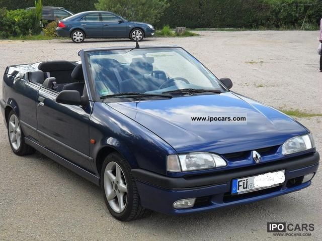 1996 renault r19 cabriolet 1 8 cap ferrat car photo and specs. Black Bedroom Furniture Sets. Home Design Ideas