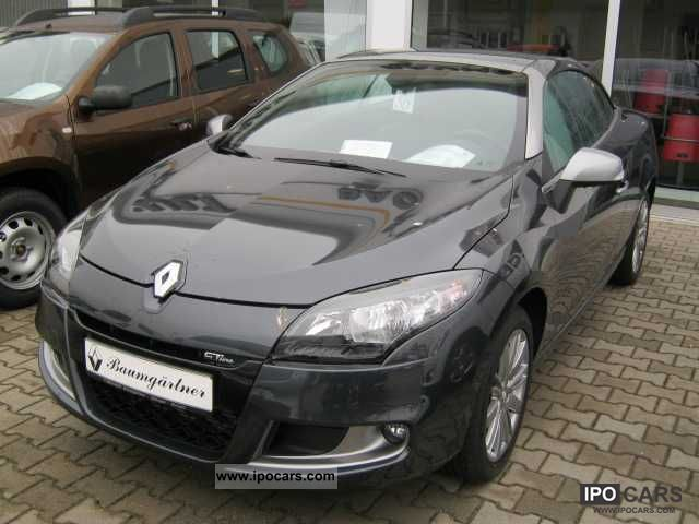 2012 Renault Cc Megane Coupe Cabriolet Dynamique Dci 130 Gt Line