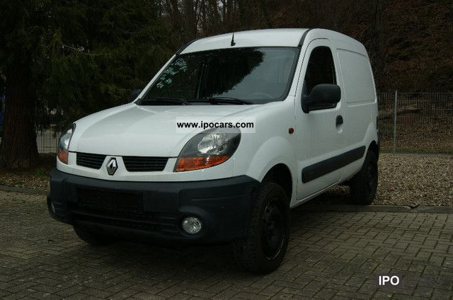 2004 renault kangoo 1.9 dci 4x4 wheel 1hande - car photo and specs
