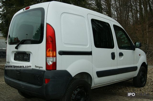 2004 renault kangoo 1 9 dci 4x4 wheel 1hande car photo and specs. Black Bedroom Furniture Sets. Home Design Ideas