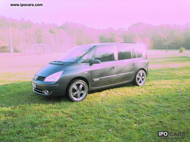 2006 renault espace 2 0 dci dynamique car photo and specs. Black Bedroom Furniture Sets. Home Design Ideas