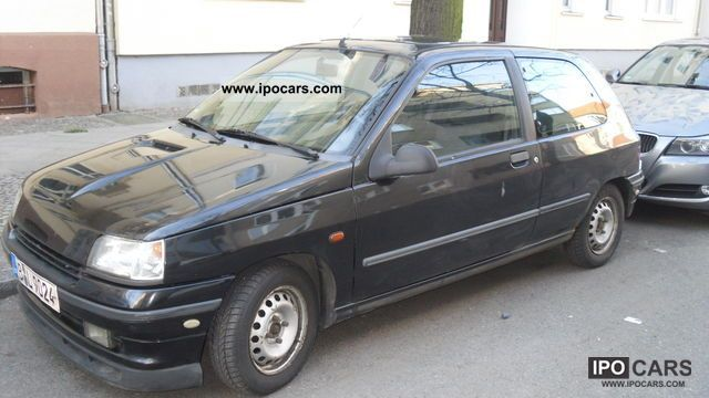 1991 renault clio 1 4 rt limited edition car photo and specs. Black Bedroom Furniture Sets. Home Design Ideas