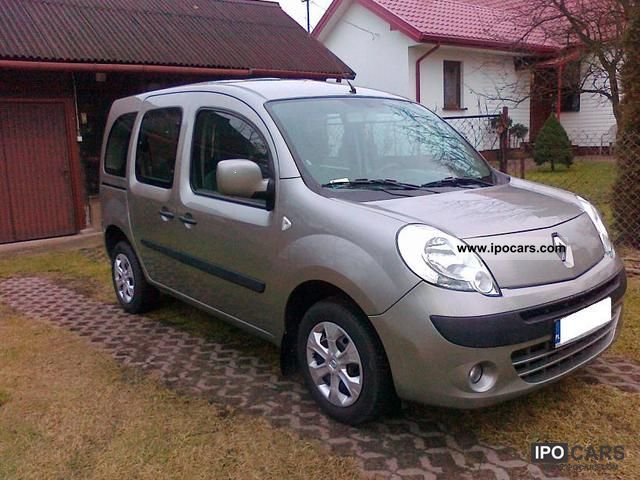 2009 renault kangoo 1 5 dci air cruise control 28000 km car photo and specs. Black Bedroom Furniture Sets. Home Design Ideas