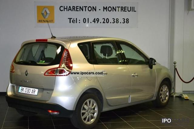 2011 renault scenic iii dci 130 fap euro 5 exception car photo and specs. Black Bedroom Furniture Sets. Home Design Ideas