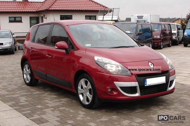 2009 renault scenic 1 5 dci 105 km climate control car photo and specs. Black Bedroom Furniture Sets. Home Design Ideas