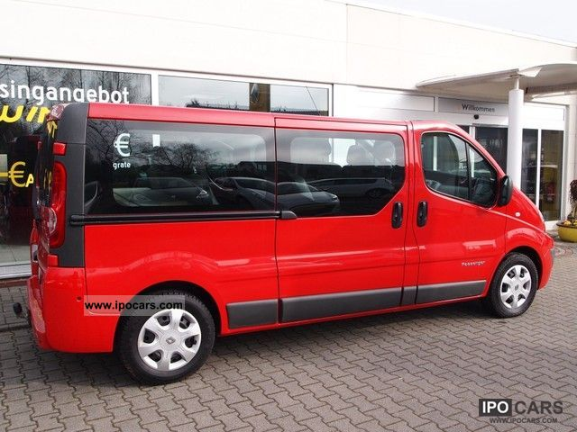 2009 renault trafic 2 5 dci 150 fap combi l2h1 car photo. Black Bedroom Furniture Sets. Home Design Ideas
