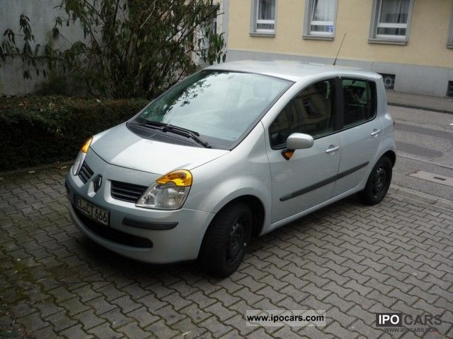 2004 renault modus 1 5 dci dynamique car photo and specs. Black Bedroom Furniture Sets. Home Design Ideas