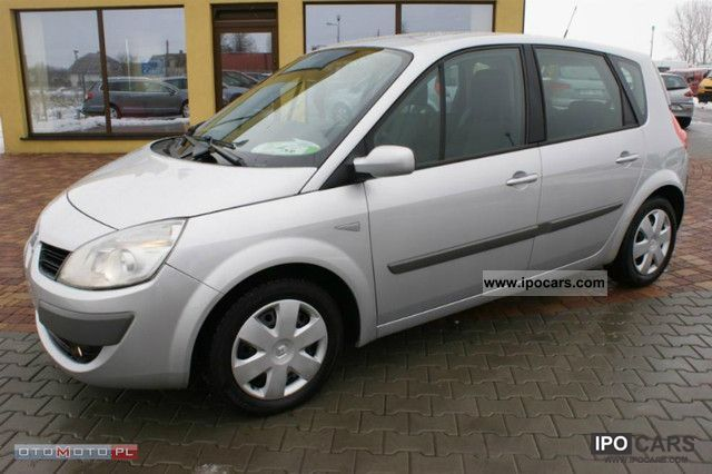 2006 renault scenic scenic 1 9 dci sprowadzony op acony car photo and specs. Black Bedroom Furniture Sets. Home Design Ideas
