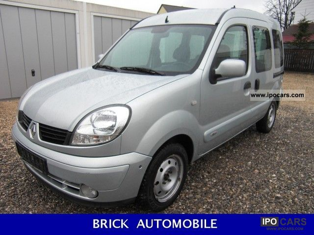 2007 Renault  Kangoo 1.6 16V / / Air / / 2x door / / Van / Minibus Used vehicle photo