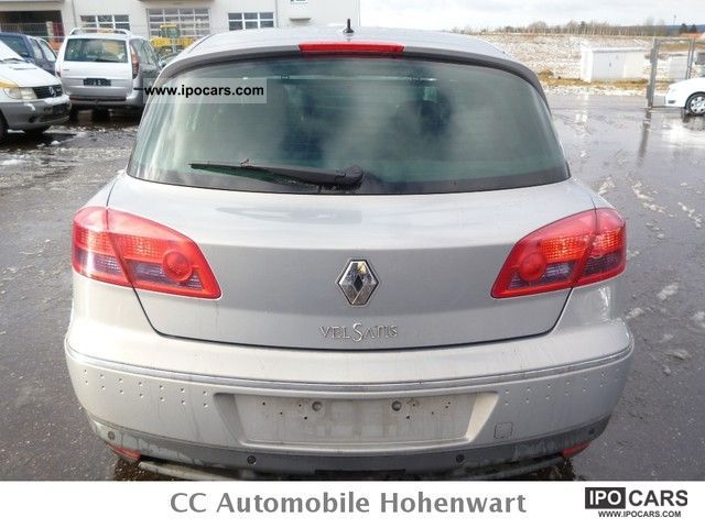 2002 renault vel satis 3 0 dci full equipment car photo and specs. Black Bedroom Furniture Sets. Home Design Ideas