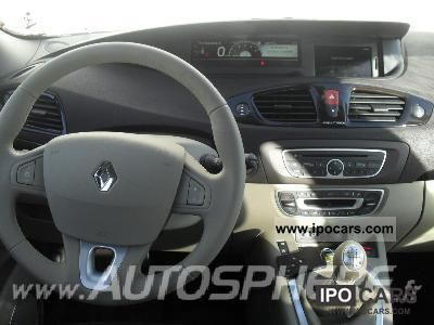 2011 Renault Dg Iii Dg Scenic Scenic Iii Dci 130 Fap
