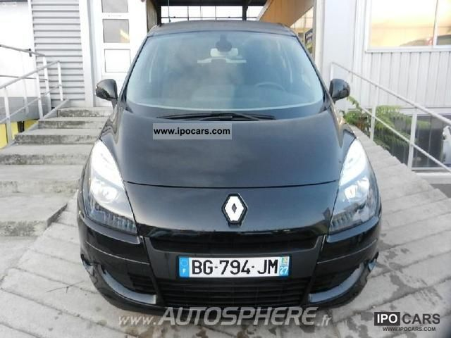 2011 renault fap scenic 1 5 dci110 business car photo and specs. Black Bedroom Furniture Sets. Home Design Ideas