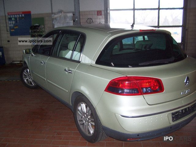 2005 renault vel satis 3 5 v6 lpg gas initial vollausstattun car photo and specs. Black Bedroom Furniture Sets. Home Design Ideas