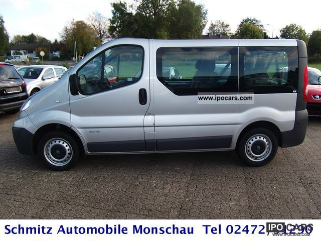 2010 renault trafic 2 0 dci 115 fap passenger l1h1 car. Black Bedroom Furniture Sets. Home Design Ideas