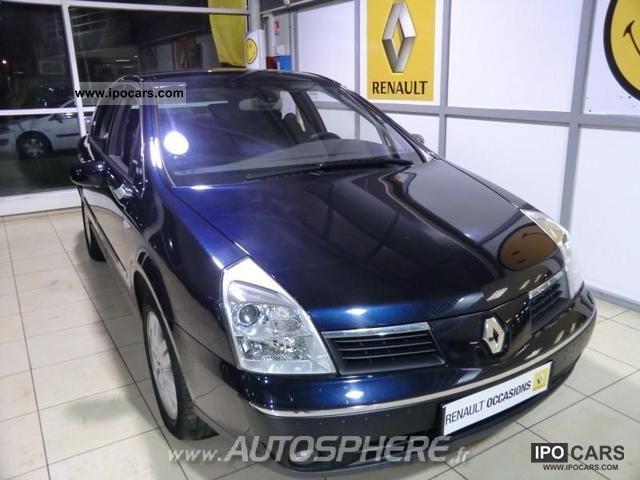 2008 Renault  FAP Vel Satis 2.0 dCi175 Privilege Limousine Used vehicle photo