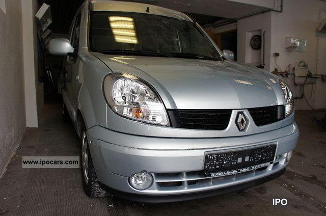 2007 Renault  Kangoo 1.6 16v Aut. Privilege, 1.Hand, 18tkm orig Van / Minibus Used vehicle photo
