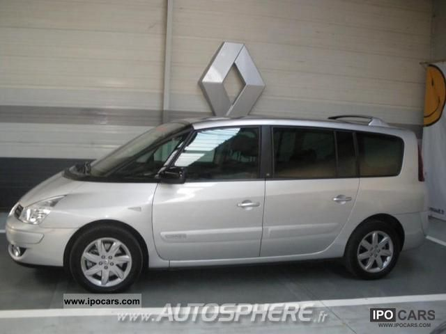 2011 renault espace car photo and specs. Black Bedroom Furniture Sets. Home Design Ideas
