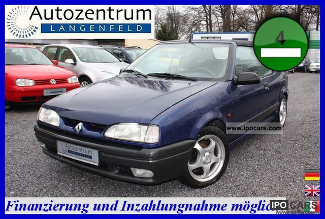 1996 Renault  19 Convertible * 1.8 * aluminum * SEAT HEATING TÜV03/2013 * Cabrio / roadster Used vehicle photo