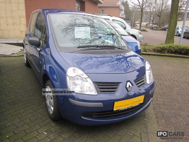 2007 Renault  Modus 1.2 16V Air + checkbook + CD + Radio Central Estate Car Used vehicle photo