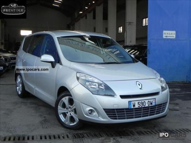 2011 renault scenic iii 1 9 dci130 fap exception 7pl car photo and specs. Black Bedroom Furniture Sets. Home Design Ideas