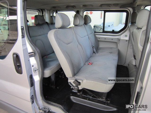 2007 Renault Trafic 2 0 Dci 115 Expression Passenger L1h1