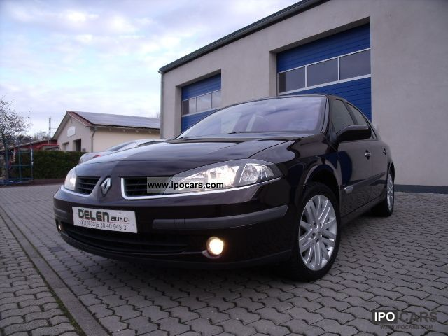 2006 renault laguna 2 0 dci privilege new tuv car photo and specs. Black Bedroom Furniture Sets. Home Design Ideas