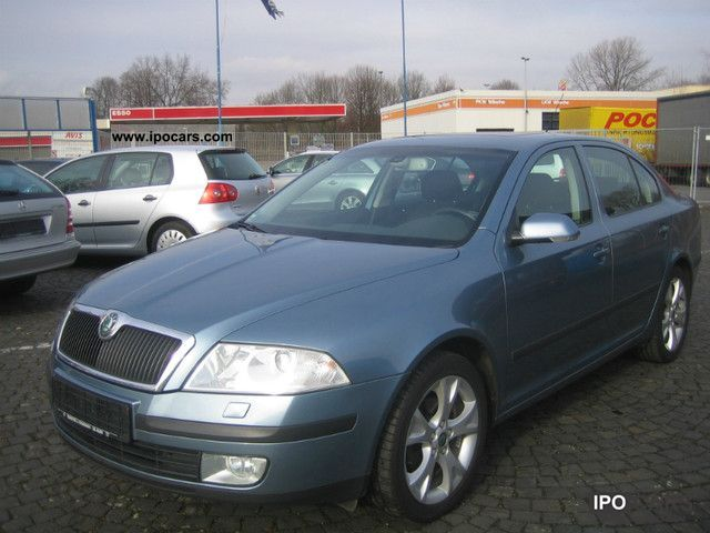 2007 Skoda  Octavia 2.0 TDI Elegance Xenon / SD / GPS Limousine Used vehicle photo