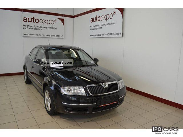 2007 Skoda  Superb Elegance 2.5 TDI Tiptronic leather, Navi, PD Limousine Used vehicle photo