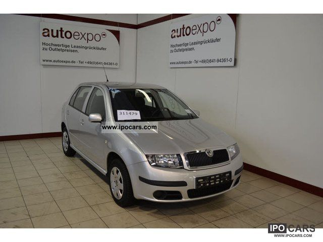 2006 Skoda  Fabia 1.4 16V Cool Edition, climate Limousine Used vehicle photo