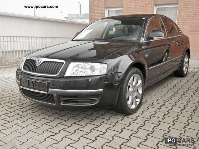 2007 skoda superb 2 5 tdi laurin klement gray leather navi car photo and specs. Black Bedroom Furniture Sets. Home Design Ideas