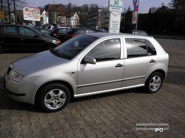 2000 Skoda Fabia 14 16v 1hand Scheckhepft Car Photo And Specs